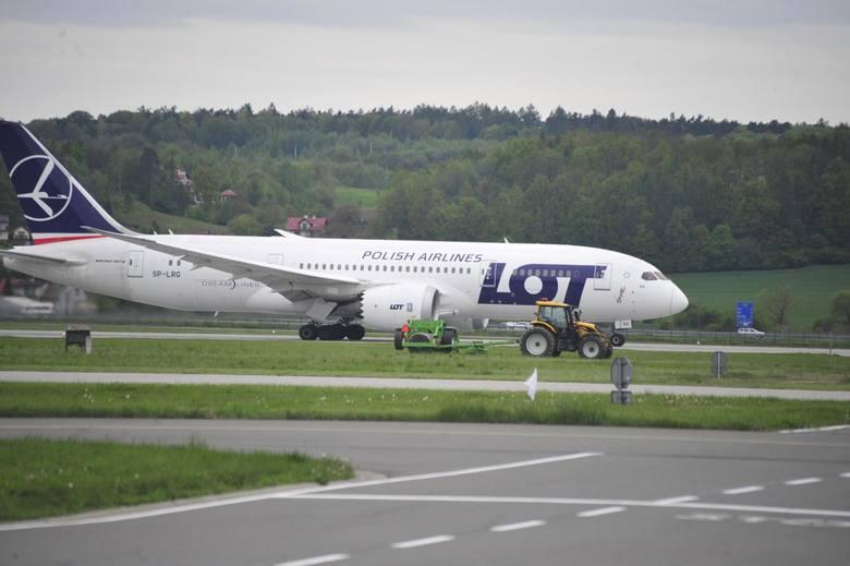 Na doskonałe wyniki krakowskiego lotniska wpływa otwarcie nowych połączeń, m.in. z USA