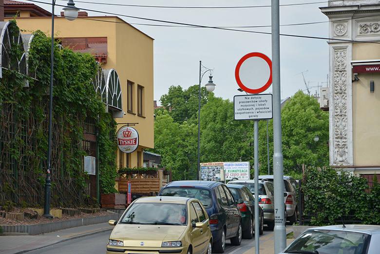 Zakaz ruchu postawiono teraz także od strony ul. Lubelskiej