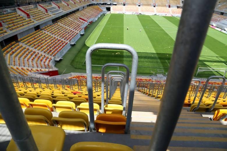 Stadion miejski bliski ukończenia