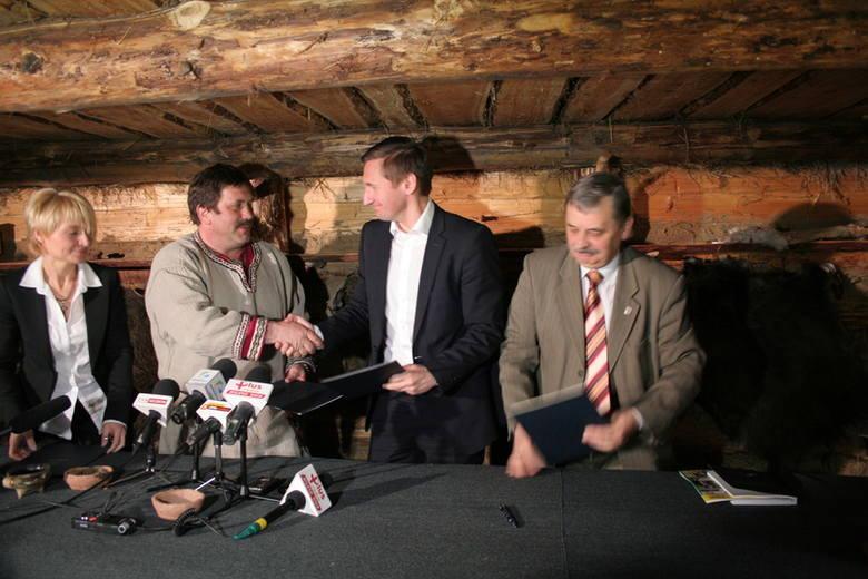 Historyczne porozumienie w Wolinie (fot. Marek Rudnicki)