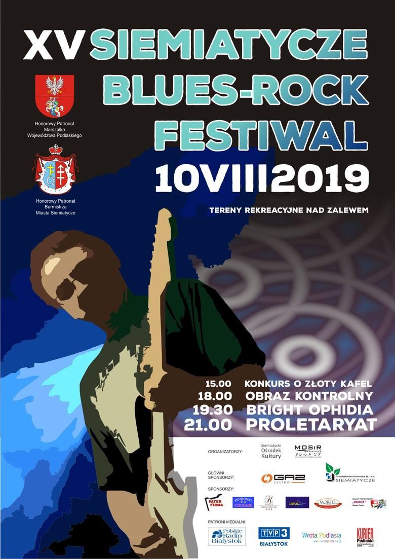 10 sierpnia nad siemiatyckim zalewem zagrają polskie gwiazdy sceny rockowej.