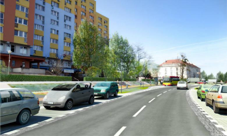 Budowa ulicy Nowogorlickiej na Psim Polu