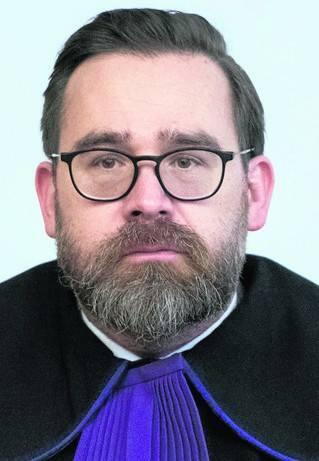 Bartłomiej Przymusiński, sędzia sądu rejomowego Poznań-Stare Miasto, rzecznik stowarzyszenia sędziów Iustitia