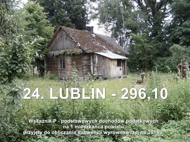 Najbiedniejsze powiaty w woj. lubelskim. Sprawdź pełną listę