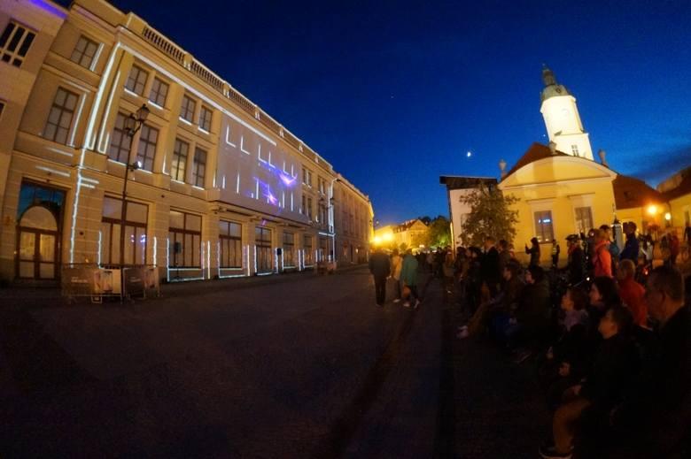 Rynek Kościuszki. Widowiskowy mapping 3D (zdjęcia, wideo)