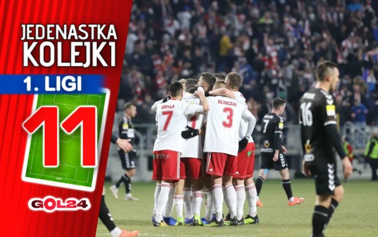 Stal i ŁKS celują w awans. Jedenastka 22. kolejki Fortuna 1 Ligi według GOL24!