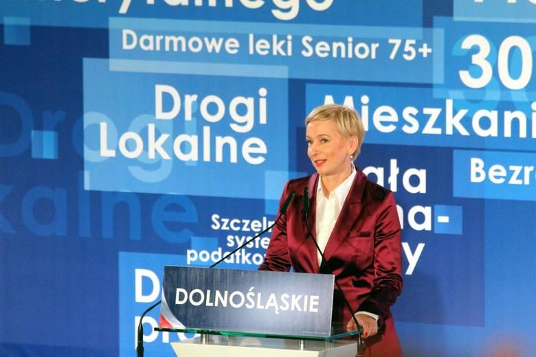 Mirosława Stachowiak-Różecka, 45 lat, miejsce zamieszkania Wrocław (Prawo i Sprawiedliwość)Kandydatka Prawa i Sprawiedliwości. Stachowiak-Różecka w 2015