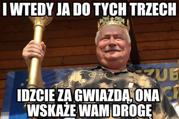 Lech Wałęsa - zobacz najlepsze memy