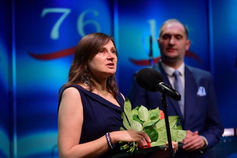 Iwona Wysocka, laureatka Bursztynowego Mikrofonu
