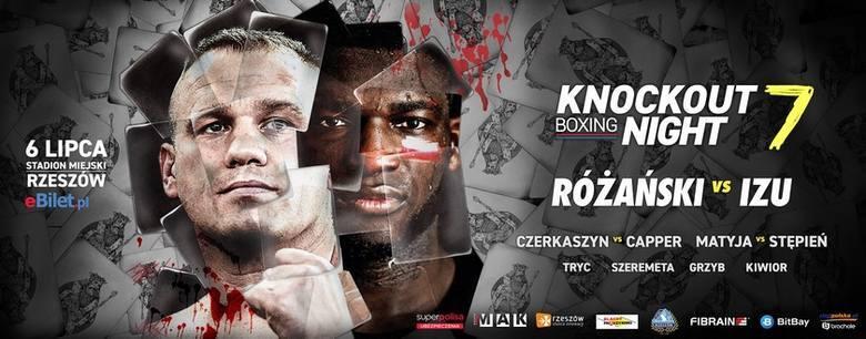 W czwartek na scenie rzeszowskiego rynku pojawią się bohaterowie sobotniej gali KnockOut Boxing Night 7 - Łukasz Różański i Izu Ugonoh