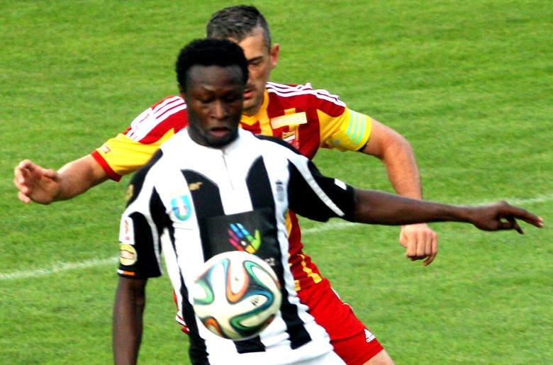 Senegalczyk Mohamadou Traore nie zjawił się na przedmeczowej zbiórce