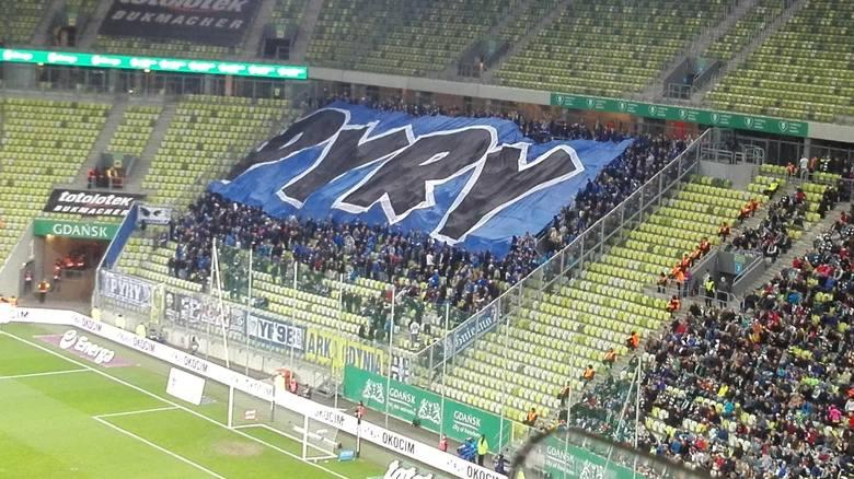 Oprawa kibiców Lecha Poznań na meczu z Lechią Gdańsk [ZDJĘCIA]