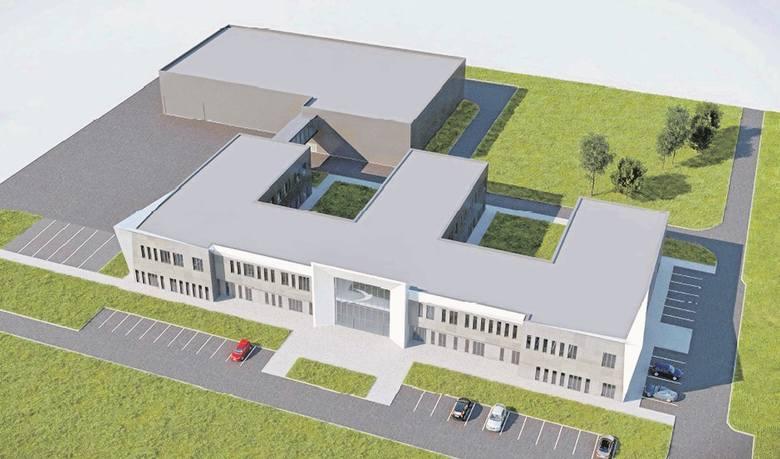 Tak ma wyglądać nowe centrum badawczo-rozwojowe. Naukowcy zaczną tam pracę w 2018 roku.