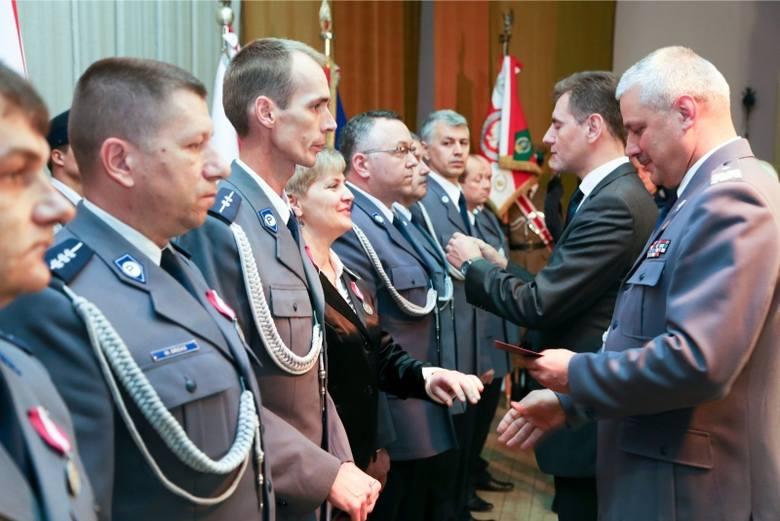 Ważne odznaczenia dla mundurowych z naszego regionu (zdjęcia)