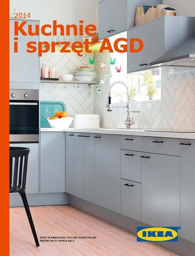 IKEA  Broszura Kuchnie i sprzęt AGD 2014 [ZOBACZ KATALOG   -> Kuchnie Ikea Lódź