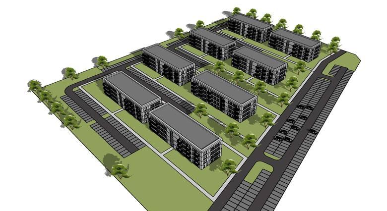 Tak ma wyglądać nowe osiedle mieszkaniowe w Maciejkowicach