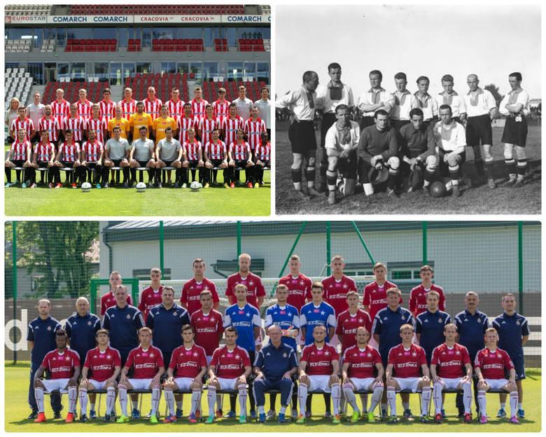 Siedem krakowskich drużyn w ekstraklasie. Znasz wszystkie? [ZDJĘCIA]