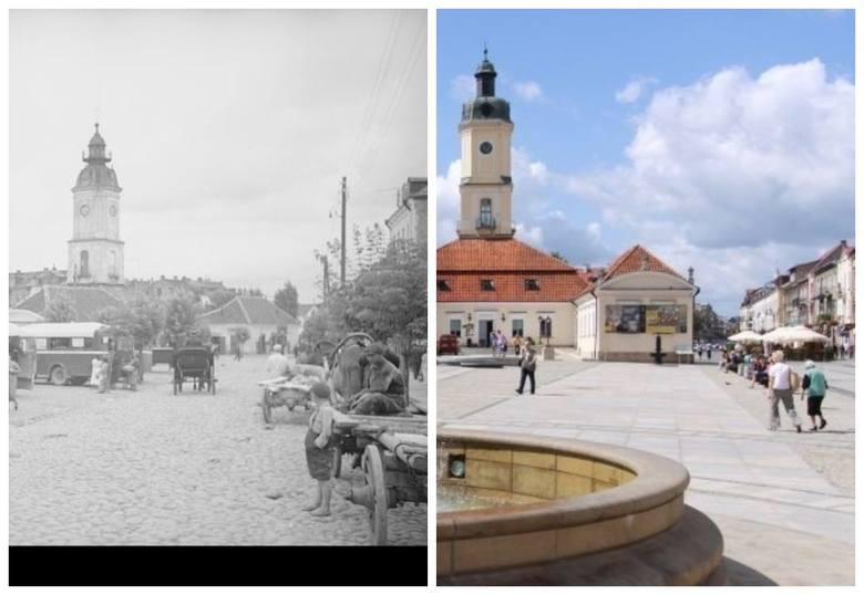 Przenosimy się w czasie do lat 1936-1943. Wtedy centrum Białegostoku wyglądało zupełnie inaczej.