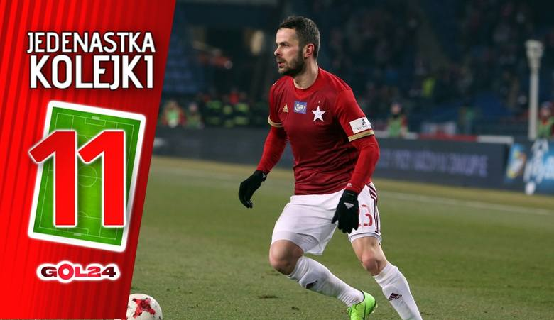 Jedenastka 35. kolejki LOTTO Ekstraklasy według GOL24 [GALERIA]