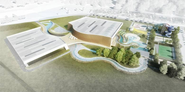 Aquapark w Szczecinie, czyli park wodny coraz bliżej. Poznaliśmy projekt!