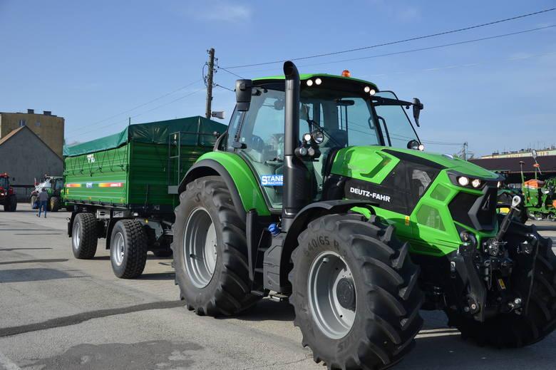Środki z dotacji można przeznaczyć m. n. na zakup nowych maszyn rolniczych