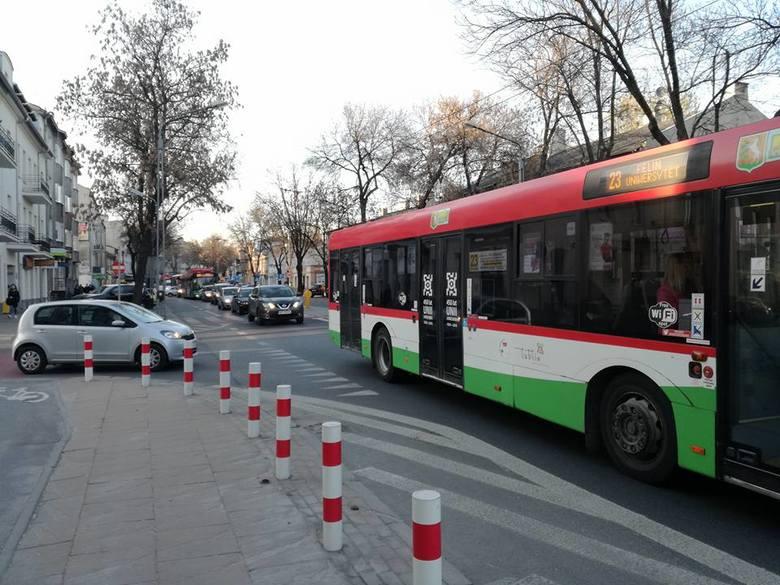 Korki w centrum Lublina. Duże utrudnienia w ruchu