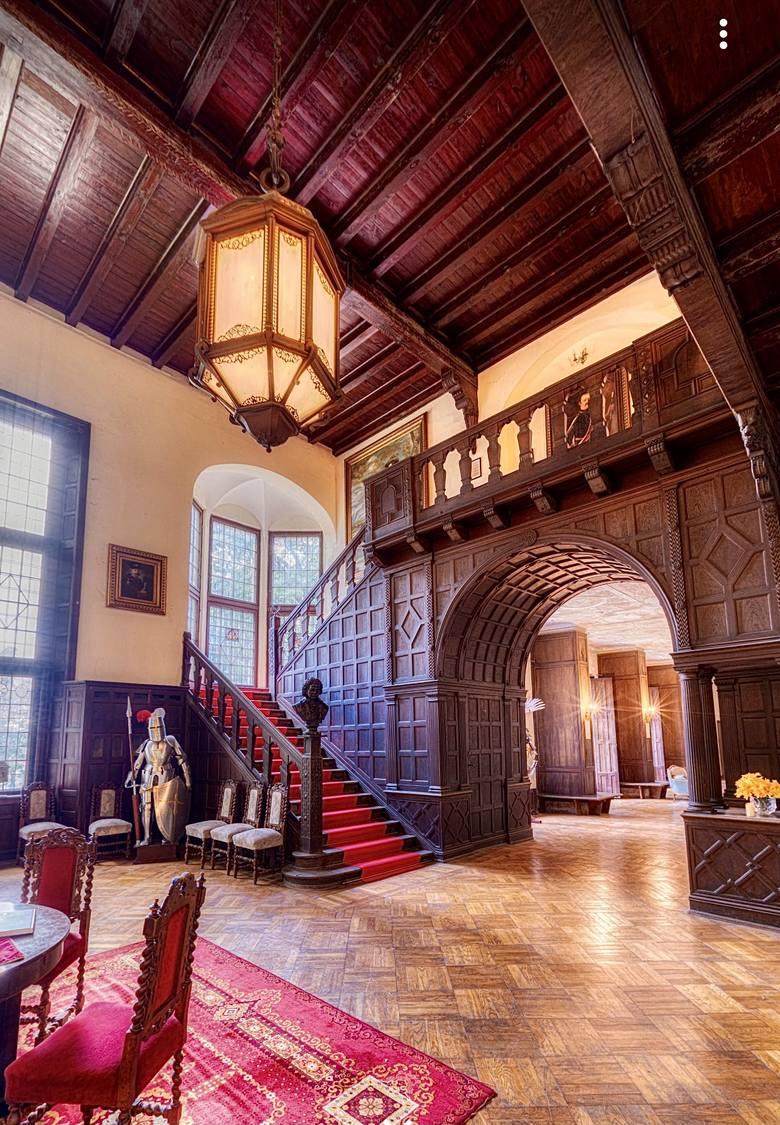 Lubniewicki zamek potocznie nazywany jest Nowym Zamkiem, choć w rzeczywistości jest... pałacem!