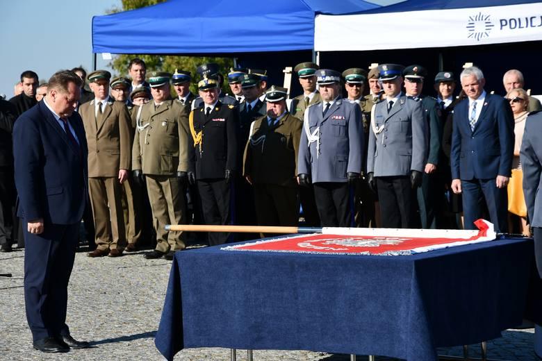 Komenda Powiatowa Policji w Sejnach ma już swój sztandar (zdjęcia)
