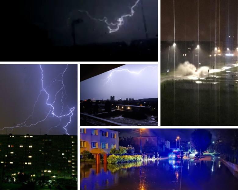 Po ulewie w Gdańsku trwa wielkie sprzątanie. Najwięcej deszczu w nocy spadło w Jelitkowie