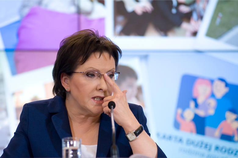 Konferencja Ewy Kopacz, na której pani premier podsumowała sto dni pracy swojego rządu