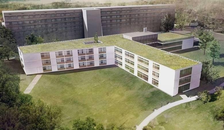 Tak może wyglądać Zakład Opiekuńczo-Leczniczy, który powstanie na tyłach Szpitala Wojewódzkiego w Poznaniu