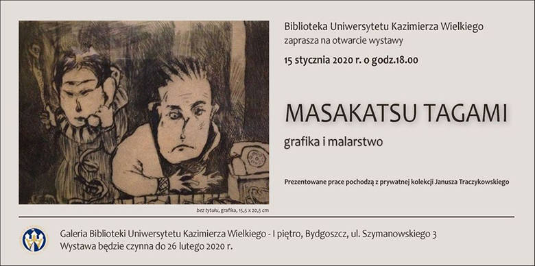 Dzieła japońskiego artysty Masakatsu Tagami po raz pierwszy raz w Bydgoszczy