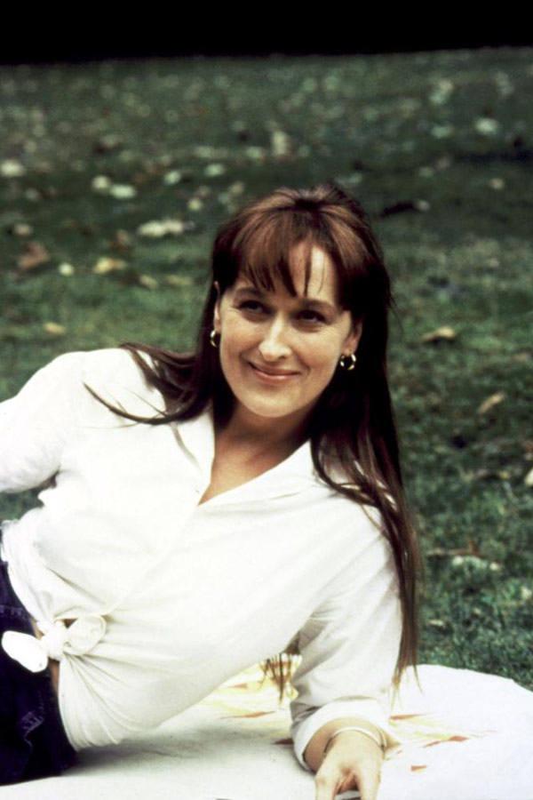 """Meryl Streep w filmie """"Co się wydarzyło w Madison County"""" (1995)"""