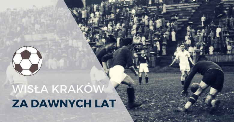 Jesteś ciekawy jak dawniej wyglądały mecze Wisły Kraków, na jakich stadionach grali piłkarze i jak kibicowali najwierniejsi fani? Zobacz archiwalne zdjęcia