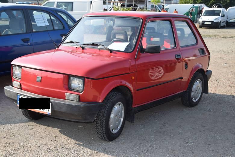 Fiat 126 P - z 1999 roku. Cena 3500 złotych