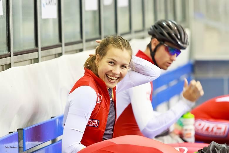 Kadra Polski sprinterów w łyżwiarstwie szybkim na zgrupowaniu w Sanoku