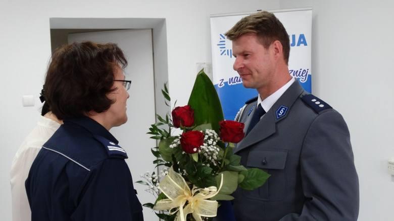 Policja w Przasnyszu z nowym zastępcą komendanta. Od spraw kryminalnych [zdjęcia]