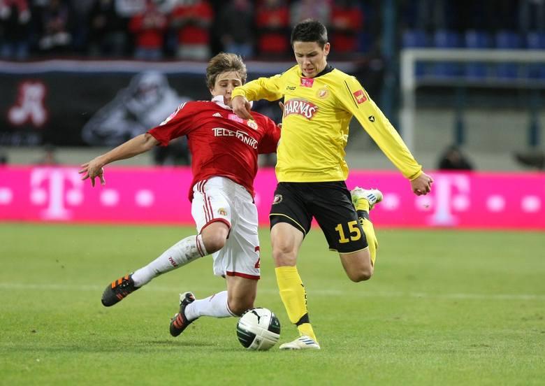 Mariusz Stępiński tym razem nie zdobył gola.