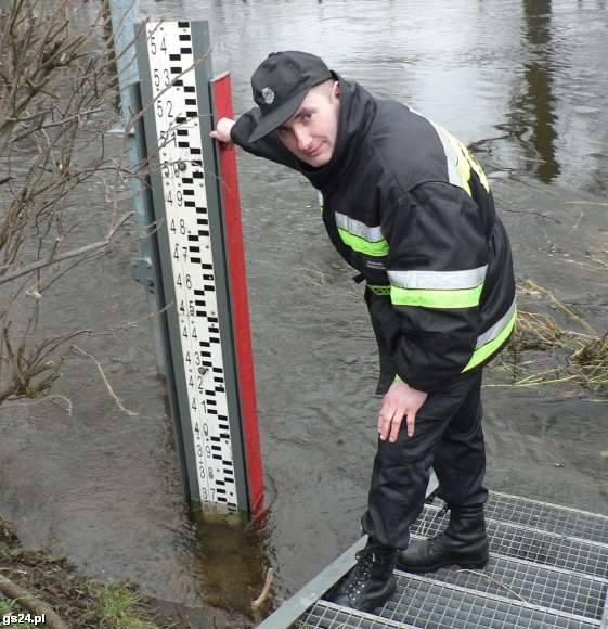 Odwołano pogotowie powodziowe w Trzebiatowie