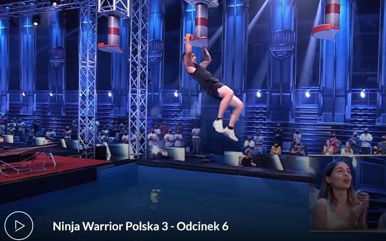 Powiat tarnobrzeski. Wojowniczy strażak Jarosław Jarosz dotarł do finału programu Ninja Warrior Polska! Ależ były emocje! (ZDJĘCIA)