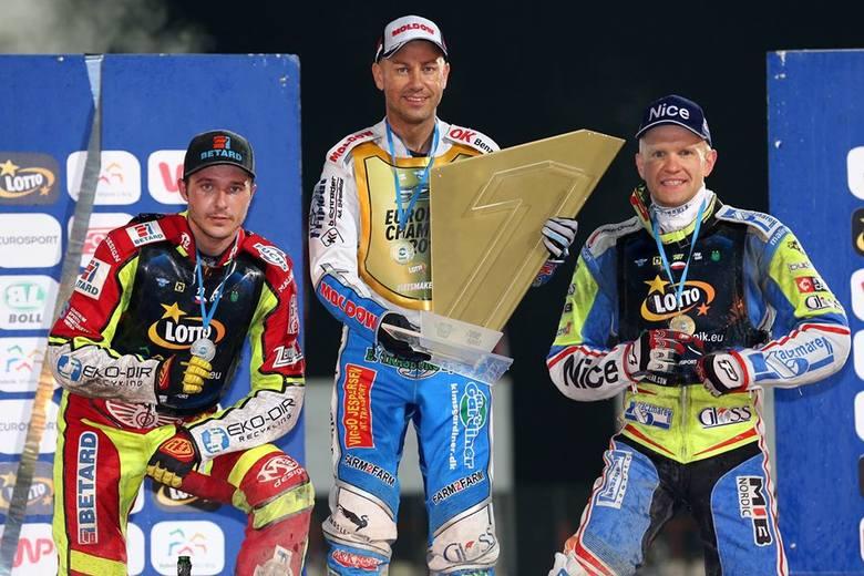 Krzysztof Kasprzak (z lewej), żużlowiec Stali Gorzów, wystartuje w cyklu Speedway Euro Championship.