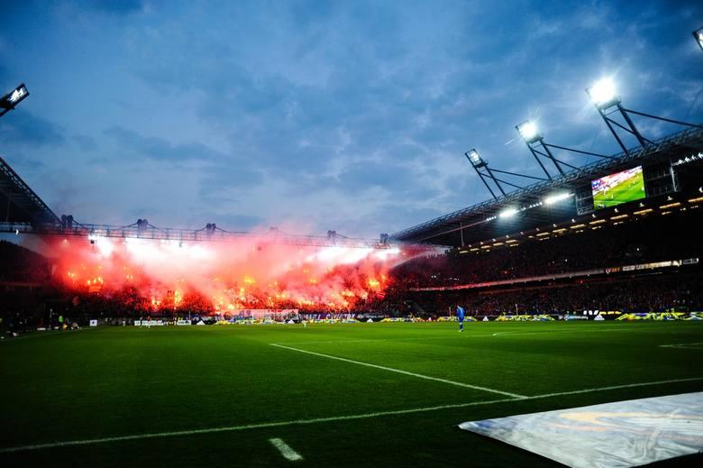Największym zainteresowaniem cieszył się mecz Wisła - Legia