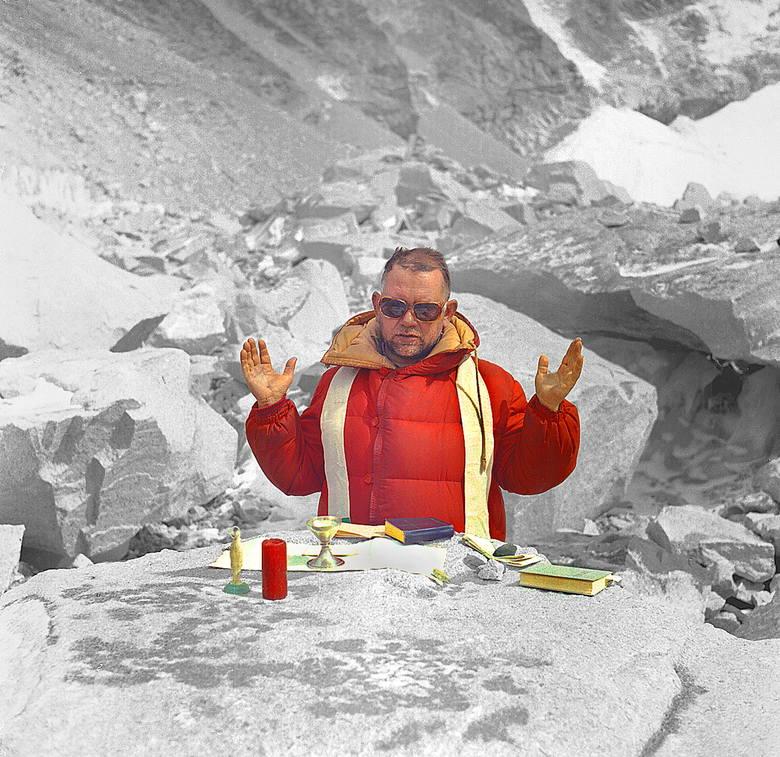 Ksiądz Stanisław Kardasz był kapelanem narodowej wyprawy na Mount Everes w 1980 roku