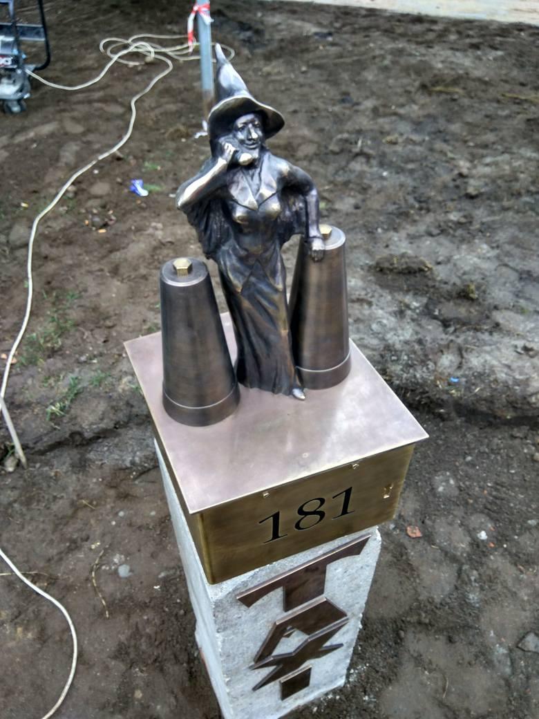 figurka czarownicy strzelce krajeńskie