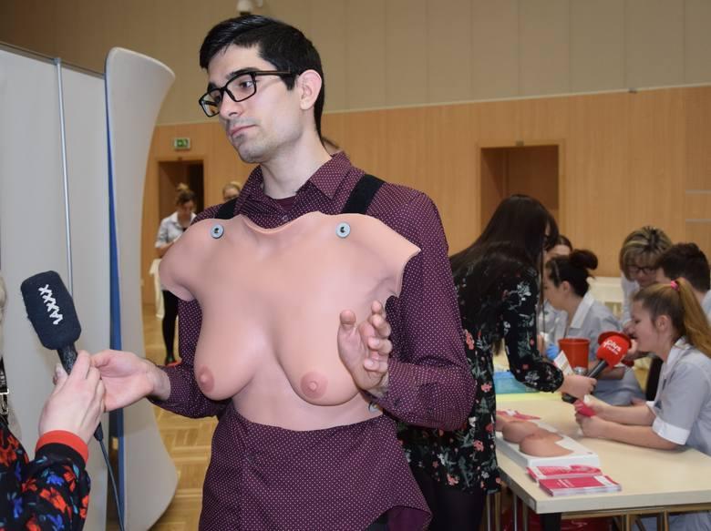 Bartłomiej Patka, student medycyny na Uniwersytecie Zielonogórskim