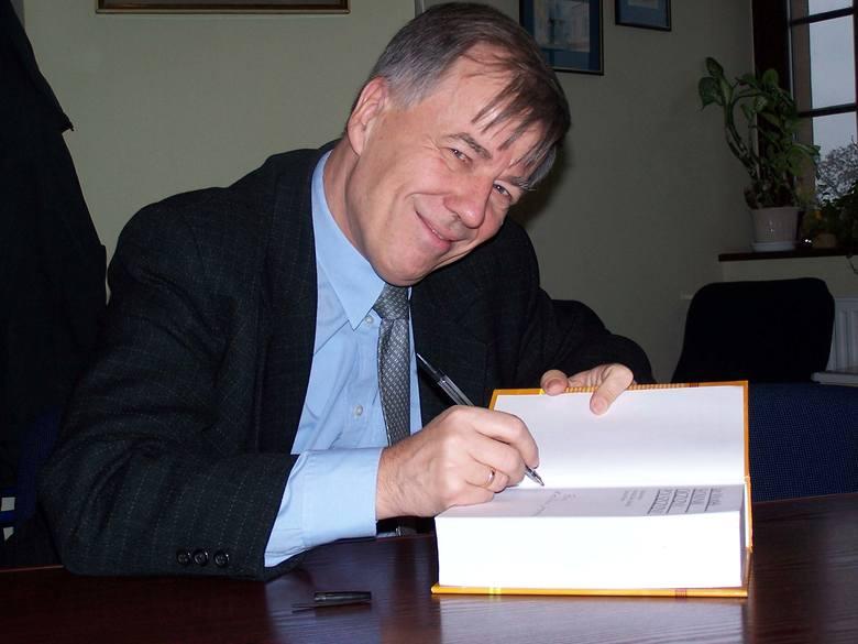 prof. Jan Miodek, wybitny językoznawca z Uniwersytetu Wrocławskiego