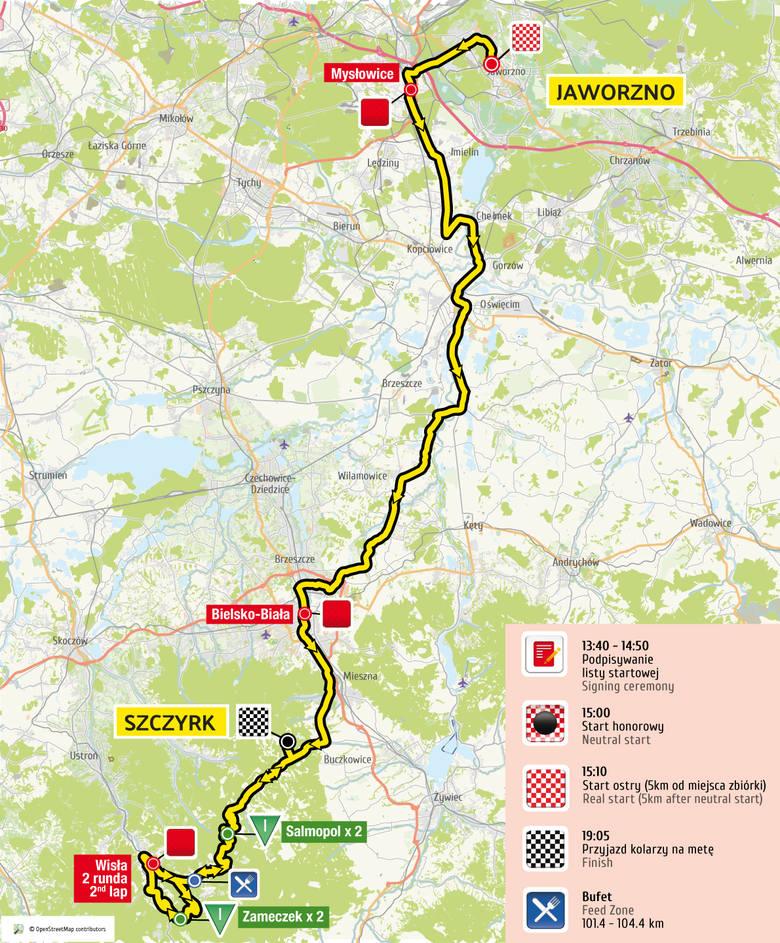 Tour de Pologne 2017: bez czasówki, za to więcej gór [TRASA, MAPKI]
