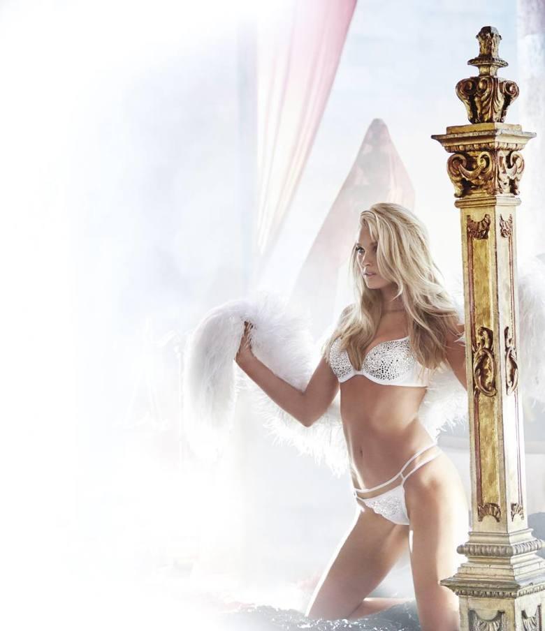 Modelki Victoria's Secret prezentują zimowa kolekcję bielizny