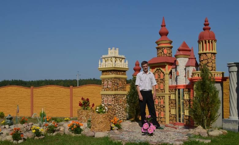 Mirosław Przygoda ma 47 lat. Mieszka w Łosinach. W jego twórczej pracy wspiera go żona Marzena. Ma dwójkę dzieci - syna Andrzeja i córkę Milenę, która po tacie ma też zdolności plastyczne. <br /> <br /> Pan Mirosław chce pokazać swoje prace innym, bo to, co robi, sprawia mu satysfakcję....