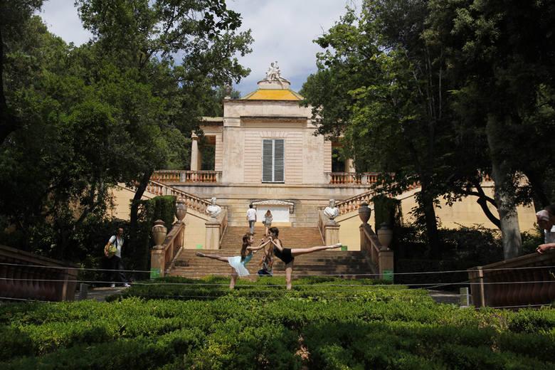 XVIII-wieczny ogród Laberinto w Barcelonie